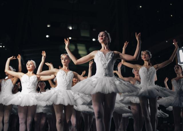 Ballet corps Swan Lake