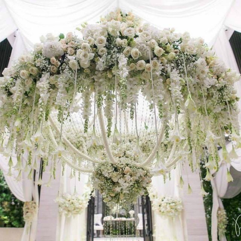 Suspended florals